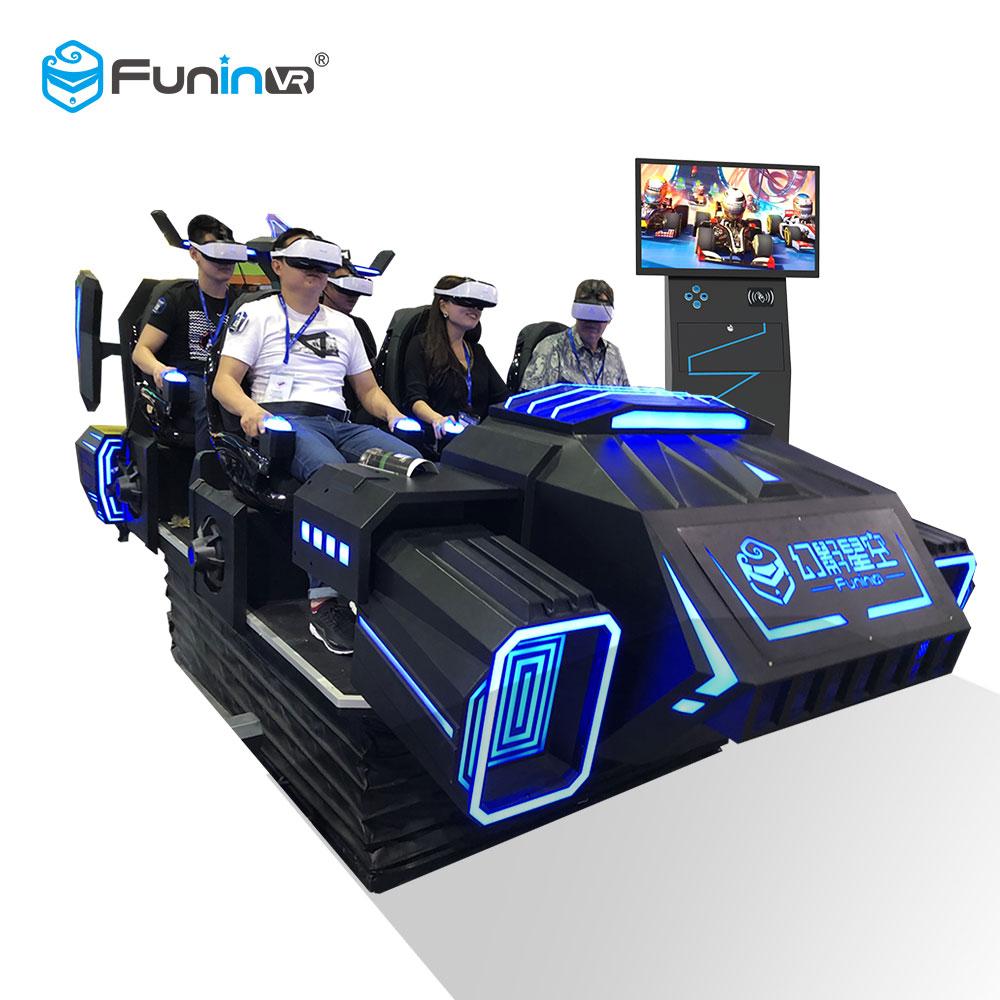 6 Asientos VR Simulador Dark Mars