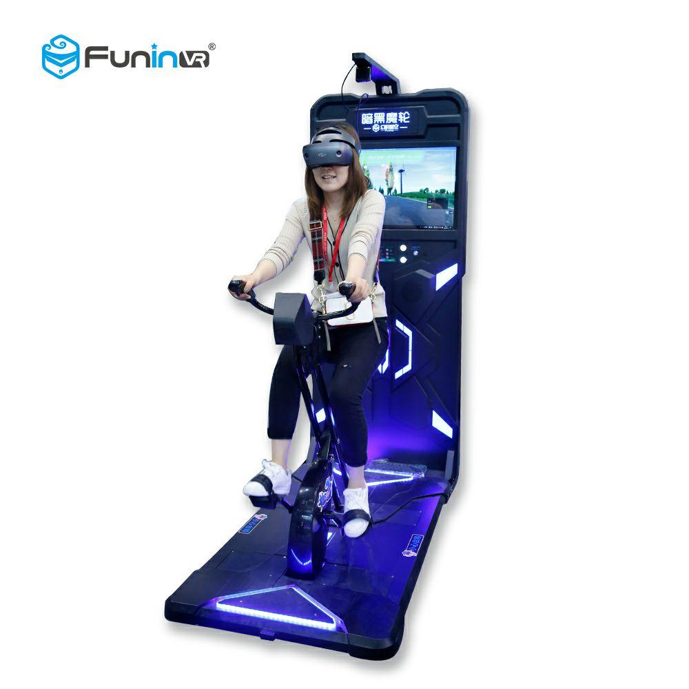 Simulador de bicicleta VR de realidad virtual