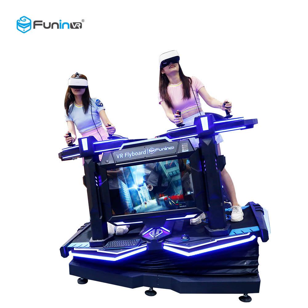 Simulador de flyboard VR de realidad virtual FuninVR 9D