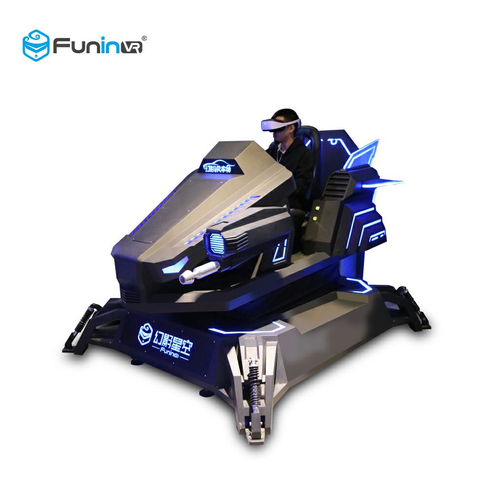 FuninVR 9D Realidad virtual VR Racing Car Simulator